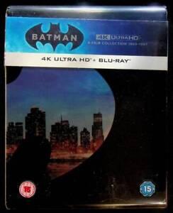Batman-Legacy-4K-ULTRA-HD-BLU-RAY-4-FILM-COLLECTION-RARO-EDITION-UK-D209001