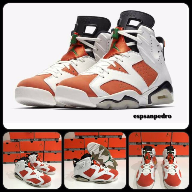 de6113266da8 Nike Air Jordan 6 Retro VI Gatorade Be Like Mike White Green Orange ...