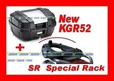 KYMCO XCITING R 300i-500i 09 VALIGIA BAULETTO KGR52 + PORTAVALIGIA SR91