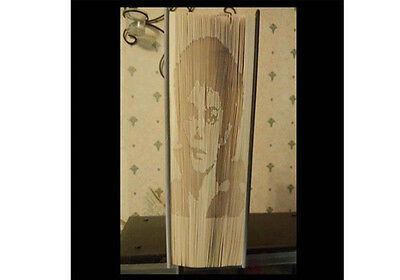 Michael Jackson Book Art Folding PATTERN Shadow Cut /& Fold Method #1148