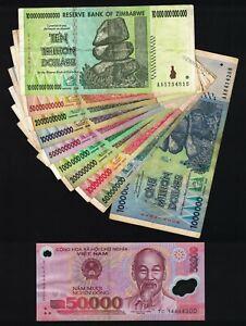 1 Million To 10 Trillion Zimbabwe