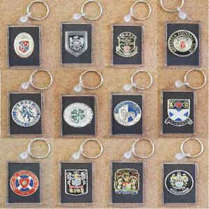 Esso-Foil-Football-Soccer-Shiny-Foil-Club-Crest-Badge-Keyring-Various-Teams