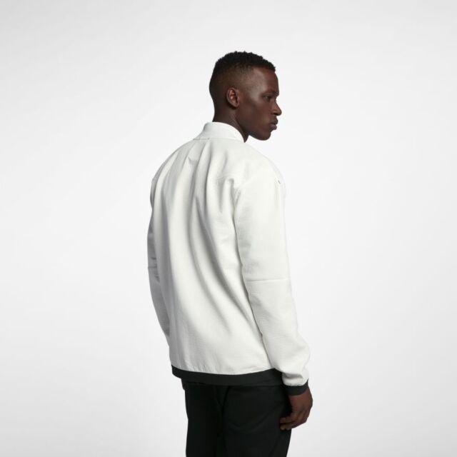 Details about Nike Tech Pack Running Jacket WhiteBlack AQ6711 100 Size Medium