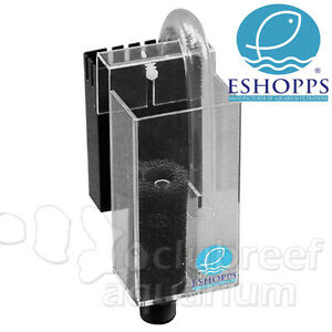Eshopps aquarium acrylic overflow pre filter box pf nano for Pond pre filter box