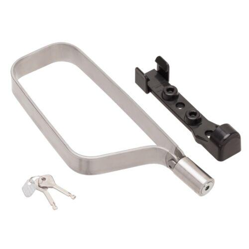 Lightweight Titanium Bicycle U-Lock with Mounting Clip TiGr mini