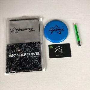 Prodigy Disc Golf Pack Lot $5 Gift Card Mini Microfiber Cloth Dry Towel Pencil