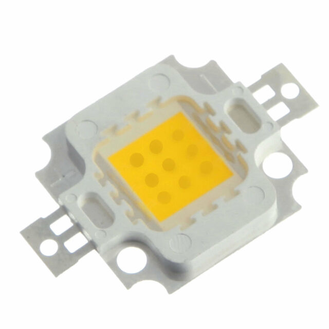1-100pcs 10W Cool Warm White High Power LED light Lamp SMD Chip DC 9-12V DIY