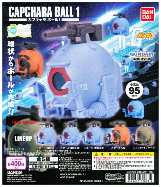 Bandai Gashapon Mobile Suit Gundam capchara ball Figure Ball Prototype