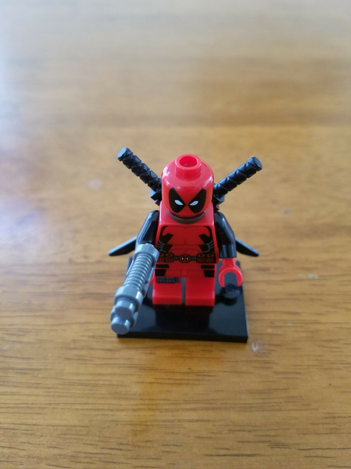 Lego Minifigura Deadpool auténtico de Set 6866