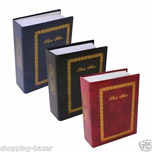 100 pocket photo album 6x4 slip in photo album holds 6 x 4