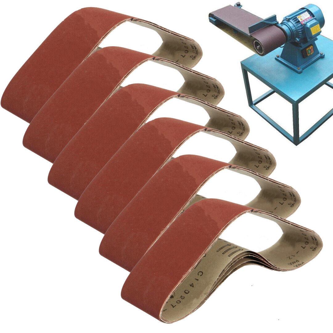 3x Gewebe Schleifbänder 915x100 mm Schleifband f Bandschleifer Korn 180 240 320