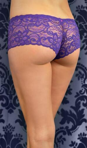All Over Lace Boyshort Bridal Underpants Boyleg Lace Brief  6-10 AU