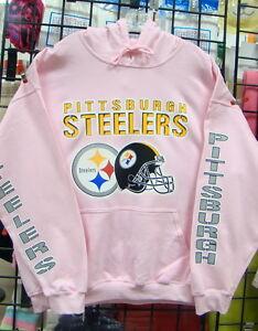 huge discount 7c00f f36b1 Details about Pittsburgh STEELERS, PINK Sweatshirt/HOODIE, S, M, L, XL,  2XL, 3XL, 4XL, 5XL