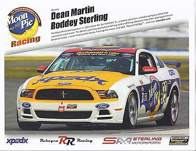 2013 Continental Tire Challenge Jim Click Racing Ford Mustang Boss 302 Card