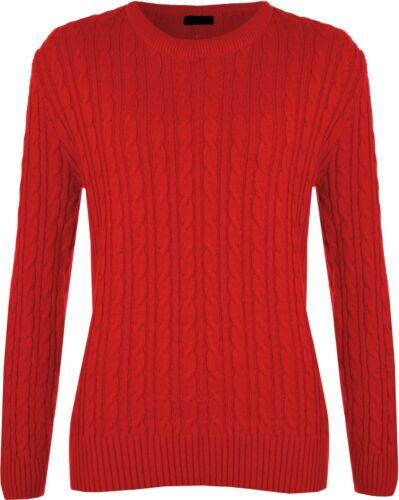 maglia donna da maglia donna a con a Maglia lunga a da girocollo manica lunga girocollo manica lavorato fRqFSw1
