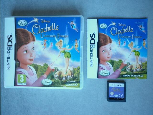Clochette Et L'expédition Féérique Jeu Vidéo Nintendo DS