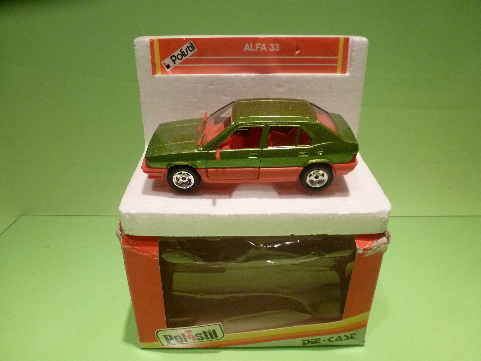 POLISTIL 2207 ALFA ROMEO ALFA 33 - 1 25 - RARE SELTEN - NEAR MINT IN BOX