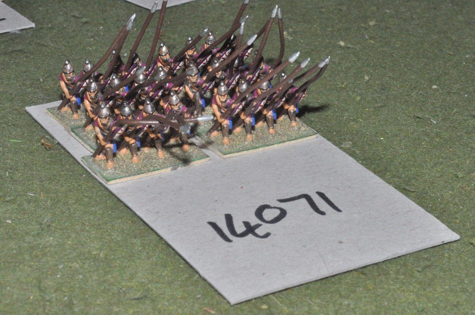 15mm roman era   selucid - pikemen 24 figs - inf (14071)