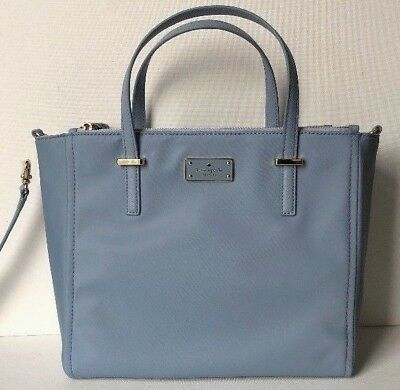 New Kate Spade New York Alyse Wilson Road Nylon handbag Cloud cover | eBay