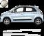 pour-Twingo-Bandes-Zebres-Stickers-adhesifs-pour-renault-couleur-au-choix miniatura 5