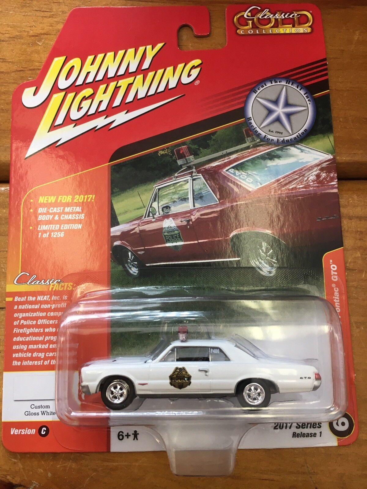 grandes ofertas Johnny Lightning Blake Rainey's 1965 Pontiac Gto Clásico oro oro oro 2017 versión 1  n ° 1 en línea