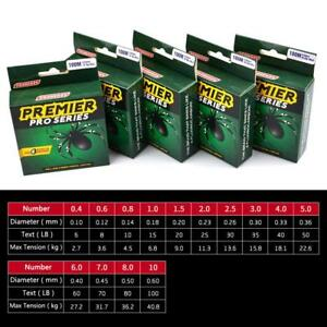 10-100LB-Super-Strong-Fishing-Line-Green-Spectra-Extreme-Braided-4-Strand-100M