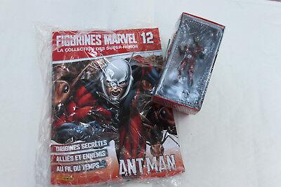 & Figurines Marvel La Collection Des Super Heros N° 12 Ant Man Neuf