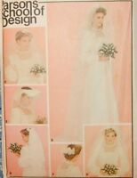3697 Butterick Bride Bridal Wedding Veils Head Pieces Package One Size