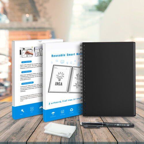 B5 Smart Notebook Erasable Office School Wave Pen Bundles Reuse With APP A5