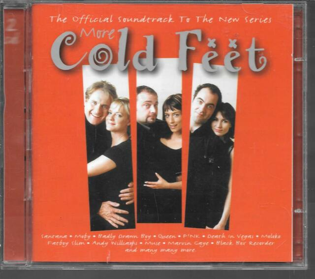 2 CD Álbum Bof / Ost 41 Títulos Serie TV More Cold Feet 2000