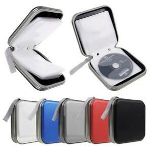 40-CD-DVD-Carry-Case-Cover-Disc-Storage-Holder-CD-Sleeve-Wallet-Ideal-for-In-Car