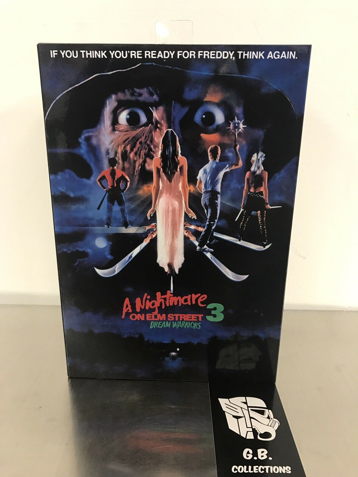 NECA En mardröm på Elm Street 3 Dream Warriors Ultimate Fröddy New Sealed