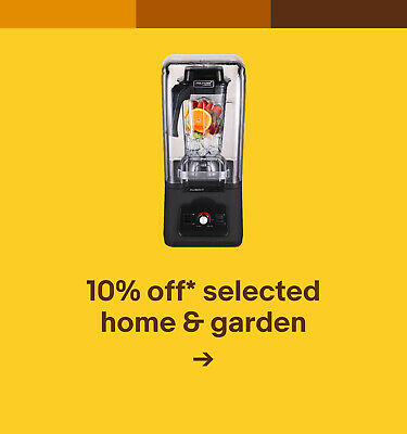 10% off* selected home & garden