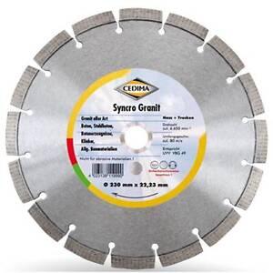 125-180-400-oder-600mm-Cedima-Syncro-Granit-Diamanttrennscheibe-22-23-25-4mm
