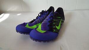 15 Ja 035 Sz Zoom Green 2 Spikes Purple para Fly Nike 705373 correr pistas Sprint 7Z5Bq5Uw