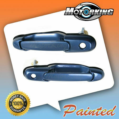 98-03 For Toyota Sienna Outside Door Handle Front Left Right 8L9 Denim Blue DS65