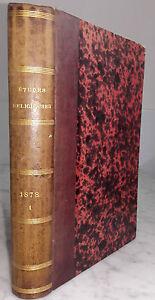 1878-ETUDES-RELIGIEUSES-DES-PERES-DE-LA-CIE-DE-JESUS-IN8-BE