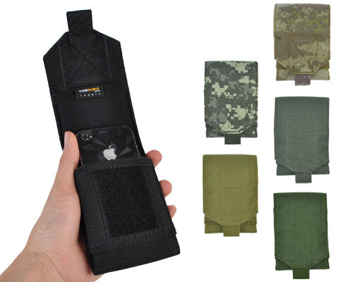 Airsoft Tactical 1000D Molle Administrative & Cellphone Pouch for Iphone5/5S/6