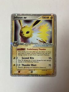 LP Pokemon JOLTEON EX Card DELTA SPECIES Set 109/113 Ultra ...