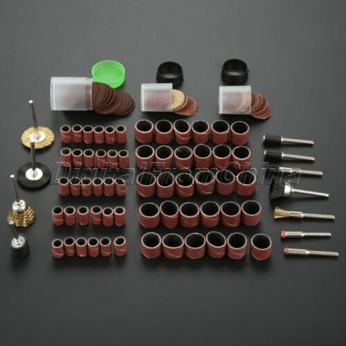 Rotary Tool Kit With Fixing Bars Rod Shaft Grinder Cutter Accessories Set 147Pcs