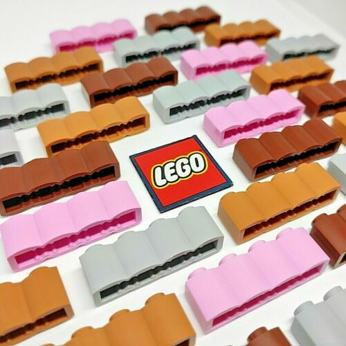 Choose Colour LEGO Brick 1x4 Palisade // Log Design 30137 Pack of 8