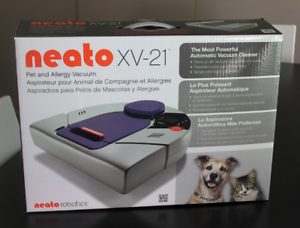 New-Neato-XV-21-Pet-amp-Allergy-Robotic-Vacuum-Cleaner-with-Warranty
