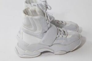 Top Ankle Trainer Sneakers Size
