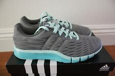 Adidas Womens A.T 360.2 Prima Running Shoes NEW Size 8 Granite Grey Mint