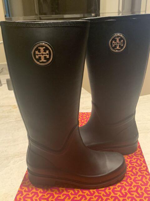 Tory Burch Sarah Logo Rain Boot BOOTS