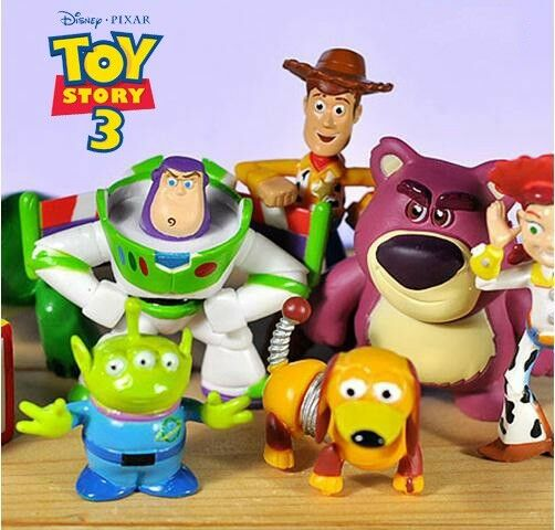 8 Disney Toy Story Action Figures Doll Cake Topper Decor Display Kid Playset Toy