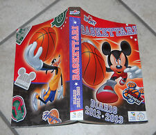 Diario BASKETTARI Topolino Sport Walt Disney 2012-2013 Diary NUOVO Agenda Basket