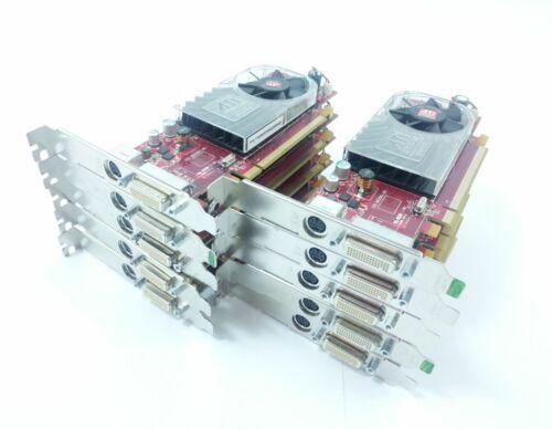 10x Bulk Job Lot Dell X398D Radeon HD3450 256MB PCI-E DMS-59 Graphics Card