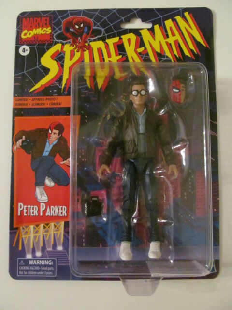 Marvel Legends - Retro Series - Peter Parker - Sealed - Light Wear