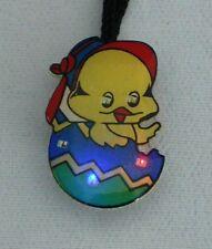 10 pcs Easter Bunny Chicken Easter Egg Blinking LEDs Light up Flashy Necklace
